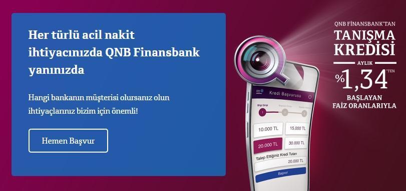 finansbank ihtiyaç kredisi kampanyası